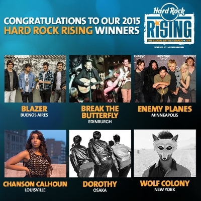 Hard Rock Announces Top 6 Finalists In World's Largest Battle Of The Bands Competition