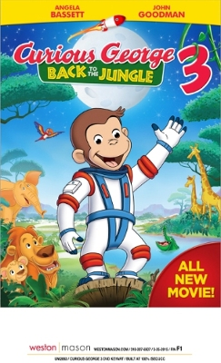 Universal Pictures Home Entertainment: Curious George 3: Back to the Jungle