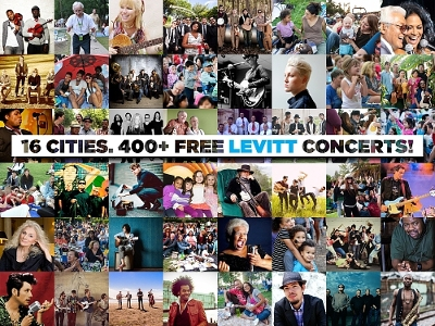 Experience the joy of free, live music with 400+ free Levitt concerts in 16 towns and cities across America, featuring GRAMMY-winning artists to acclaimed, emerging talent in a wide array of music genres.