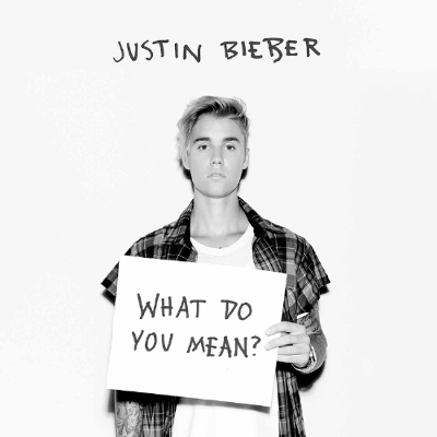 Justin Bieber - What Do You Mean - Single Art