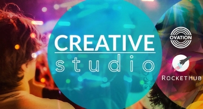 Ovation launches Creative Studio, a crowdfunding initiative for artists, in partnership with RocketHub