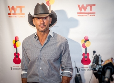 Tim McGraw is seen at the Concert For University of Maryland Children's Hospital, on Saturday October 24th 2015 in Baltimore Maryland. McGraw headlined the concert to benefit the patients and programs of the Hospital.  Edwin Remsberg AP Images for University of Maryland Medical System Foundation