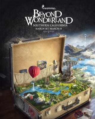 Insomniac announces the return of Beyond Wonderland to Southern California, March 18 and 19, 2016 at the San Manuel Amphitheater & Grounds in San Bernardino