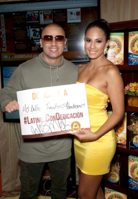 Singer Wisin, who participated in the 2015 Latin Recording Academy(R) Person of the Year Gala, shared his dedication with fans. For every person that shares the hashtag #LatinosConDedicacion from November 16, 2015 to January 3, 2016, Honey Bunches of Oats(R) will donate 11 meals ($1) to Feeding America(R) with a goal of donating 110,000 meals. Photo credit: WireImage
