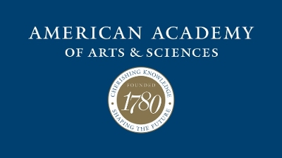 American Academy of Arts and Sciences (PRNewsFoto/American Academy of Arts & Scie)