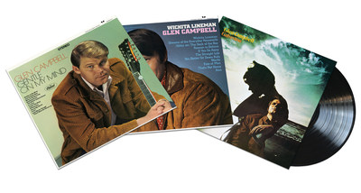 "Glen Campbell's star-making albums, ""Gentle On My Mind,"" ""Wichita Lineman"" and ""Galveston"" will be reissued on vinyl on March 24 via Capitol Nashville/UMe."