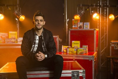 Thomas Rhett raises awareness for hunger in partnership with Big Machine Label Group, General Mills and Feeding America