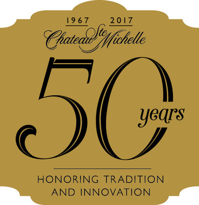 Chateau Ste. Michelle 50th Anniversary Logo