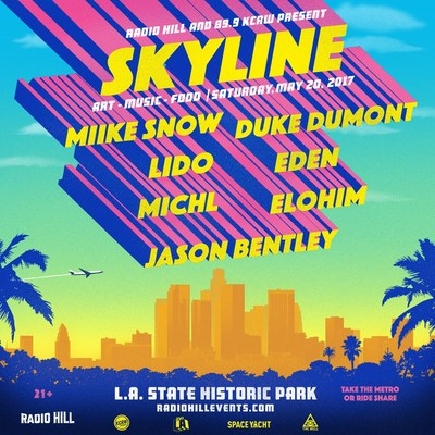 Radio Hill and KCRW present Skyline