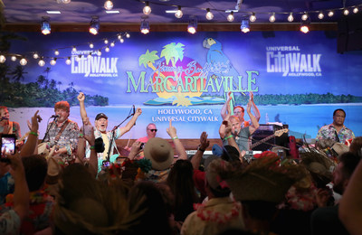 Universal Studios Hollywood toasted the arrival of Jimmy Buffett's Margaritaville restaurant to Universal CityWalk with an exciting performance by Jimmy Buffett and the Coral Reefer Band on Thursday, March 30, 2017.