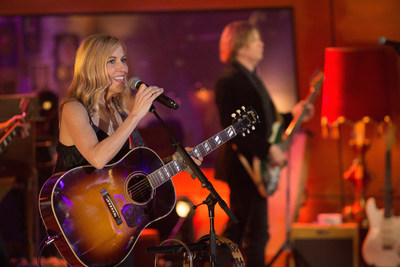 Sheryl Crow performs on AT&T AUDIENCE Network