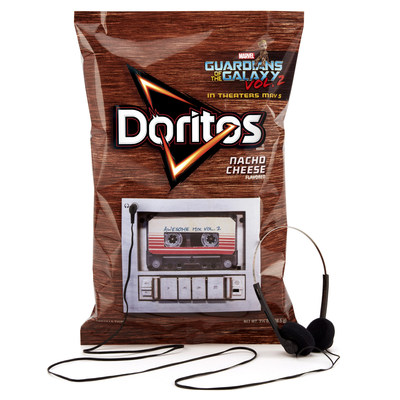 Doritos rocks out with 'Guardians of the Galaxy Vol. 2' for out-of-this-world soundtrack release.