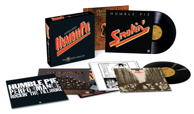 The A&M Vinyl Boxset 1970-1975 from soaring rock super-group Humble Pie. The band's key A&M era albums are collected for the first time together in one mighty set, the limited edition time capsule is available on June 2, 2017. Order today.