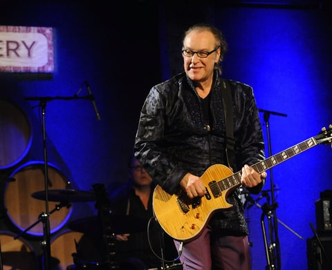 Dave Davies of The Kinks performs at City Winery on November 24, 2014 in New York, New York.