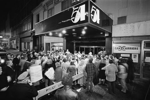 Manhattan's reknowned disco and nightclub Studio 54 is located at 254 West 54th Street.
