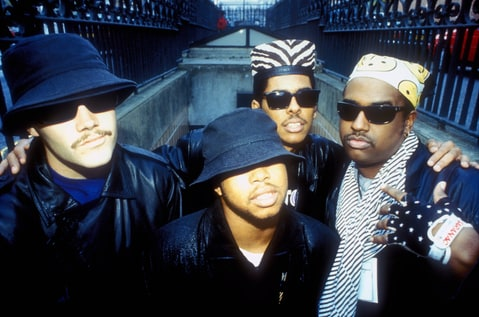 DJ Fuze, Money-B, Shock G and Chopmaster J of Digital Underground