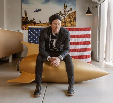 Tom Delonge talks new book