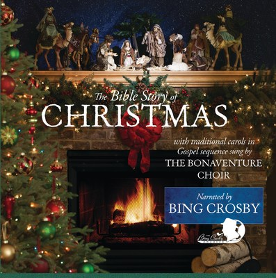 "The re-issue of ""The Bible Story of Christmas Narrated by Bing Crosby"" 2017"