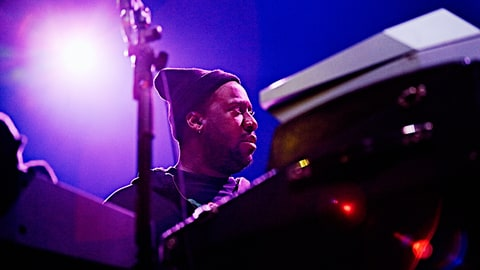 Robert Glasper of the The Robert Glasper Experiment performs on March 26, 2016 in Utrecht, Netherlands.