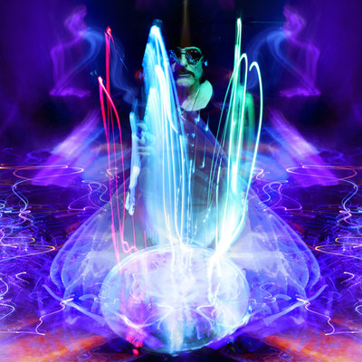 """Innovative Art Company SceneFour of Los Angeles have announced it will release the highly anticipated collection from legendary drummer Carmine Appice, entitled """"Purple"""" on June 1st., 2017. The grouping of compelling art images is yet another collaboration between an esteemed musician and SceneFour using the new technology of combining LED lights, cutting edge photography and powerful drumming. Appice founded Vanilla Fudge & Cactus, and has played with Jeff Beck, Rod Stewart and Ozzy Osbourne."""
