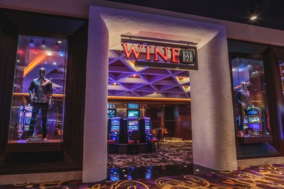 Hard Rock Hotel & Casino Sioux City's $6.2 million, 8,000 square feet expansion, opened in May 2017, includes more gaming, a private lounge and Wine Bar.