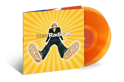 """NEW RADICALS' 1998 ALBUM, MAYBE YOU'VE BEEN BRAINWASHED TOO, GETS FIRST-EVER VINYL RELEASE AS 2-LP SET, PLUS SPECIAL TRANSLUCENT GOLD ALBUM EDITION, AUGUST 4, VIA UMe   Album includes hit single """"You Get What You Give"""" and """"Someday We'll Know"""""""