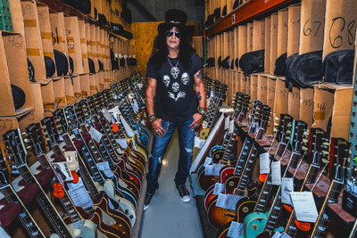 Gibson Brands announces Slash as first ever Global Brand Ambassador