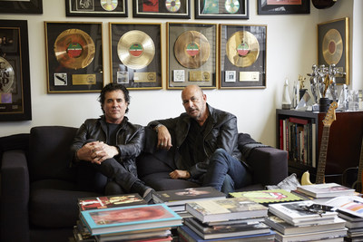 Big Machine Label Group President/CEO Scott Borchetta and fashion designer John Varvatos
