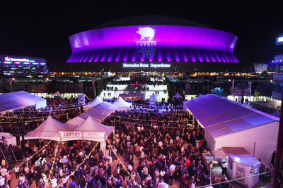 Emeril Lagasse Foundation's annual Boudin, Bourbon & Beer fundraising event at Champions Square in New Orleans.