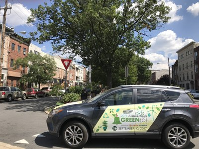 Clean Air Council's 12th annual Greenfest Philly presented by Toyota Hybrids returns September 10 to Bainbridge Green.