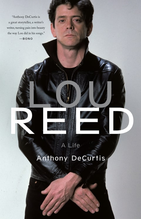 lou read a life anthony decurtis book cover