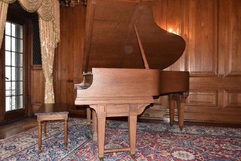 Berry Gordy's Personal Piano