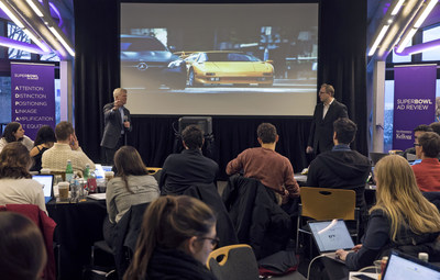 Kellogg School of Management Professors Derek Rucker and Tim Calkins co-lead the school's Super Bowl Ad Review.
